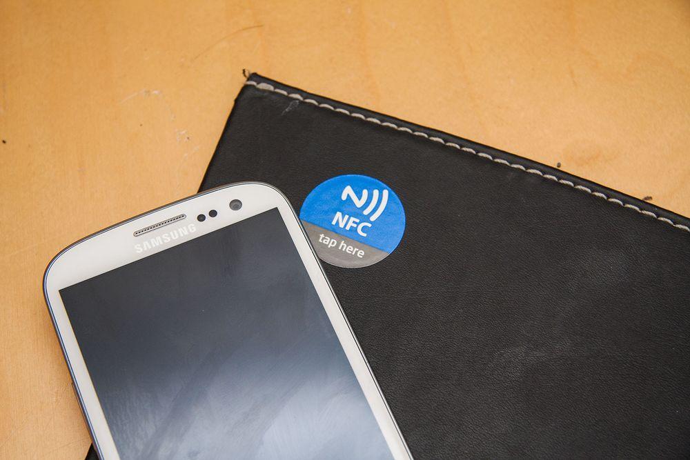 Slik tar du i bruk NFC
