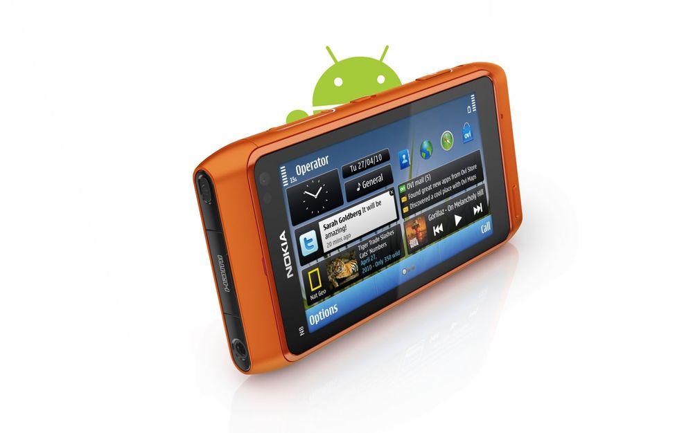 Nokia taper andeler, Android er gigantisk