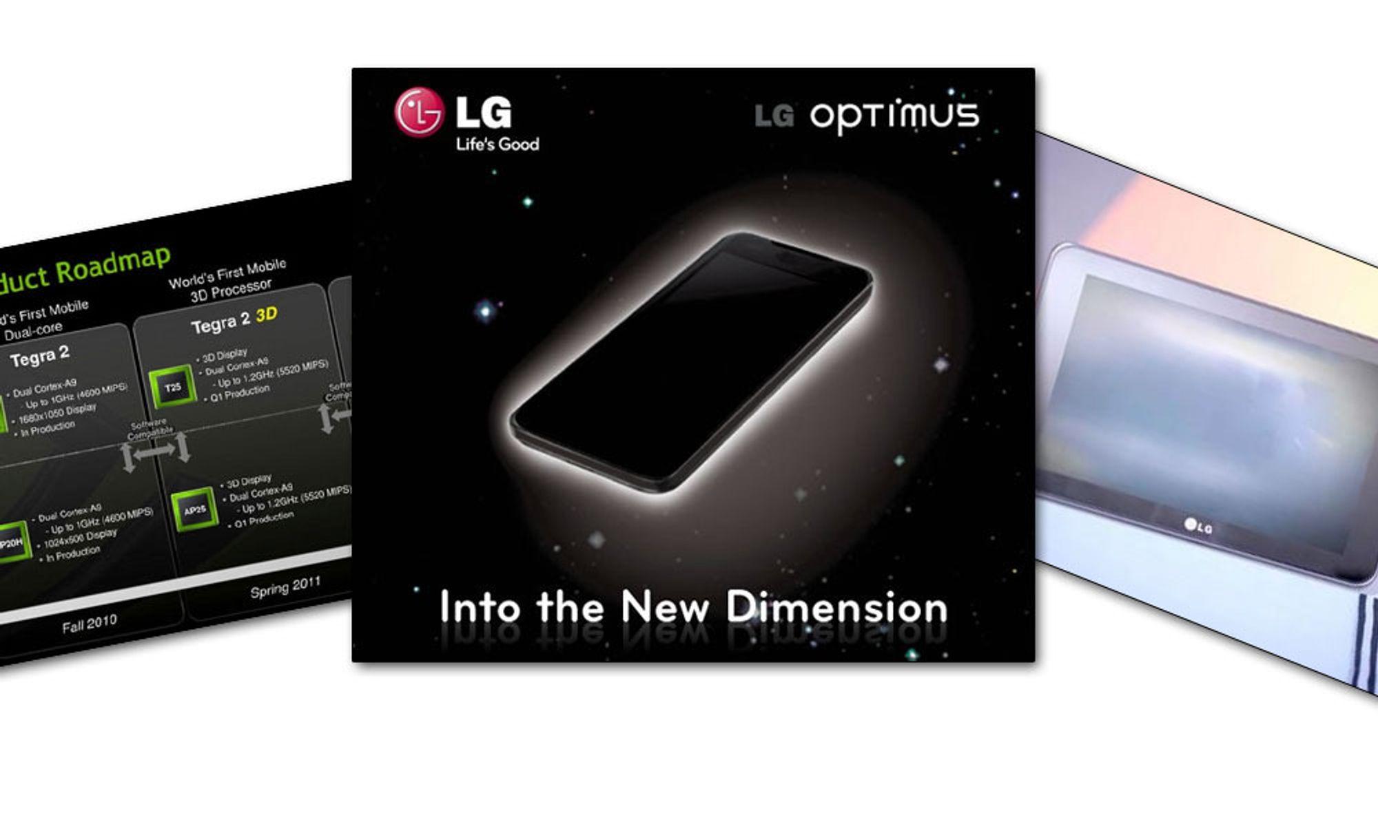 3D-telefon fra LG?