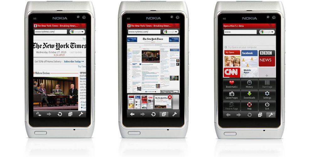 Nå kommer Opera Mini til Symbian