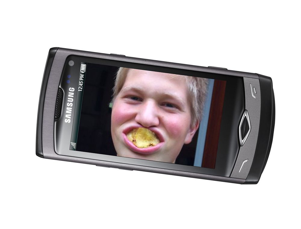 Gliste seg til Samsung Wave