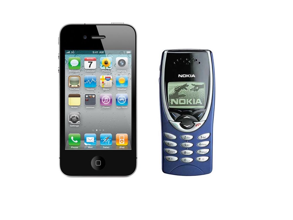 Da Apple tok en Nokia