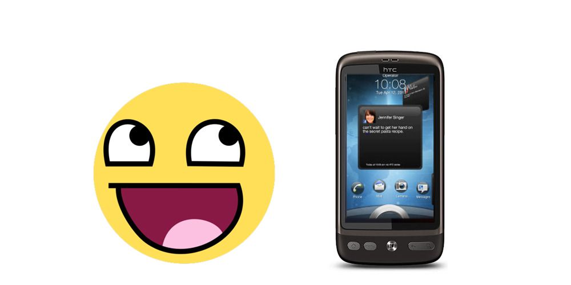 HTC Desire får 2.3 likevel