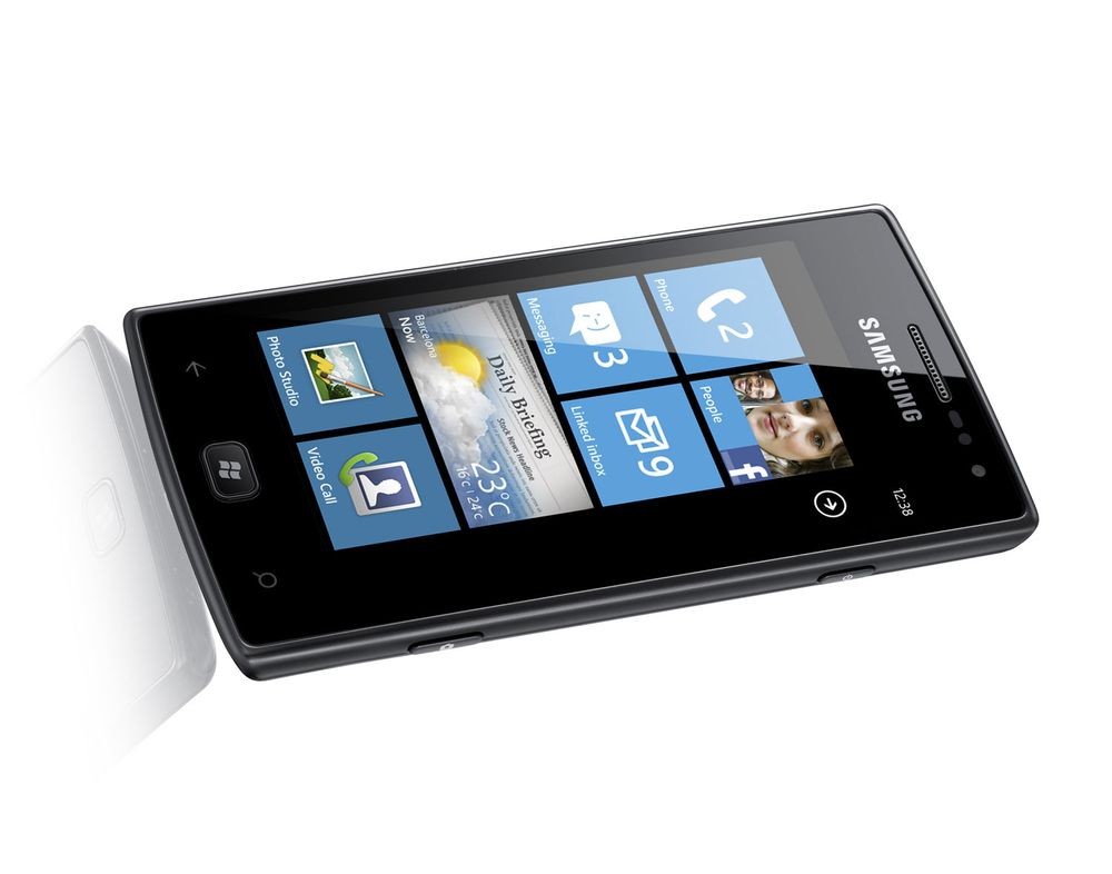 Samsung lanserer Omnia W