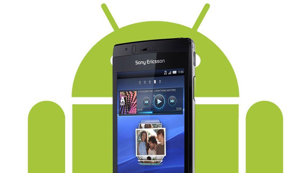 Android 2.3.4 klar til Xperia Arc