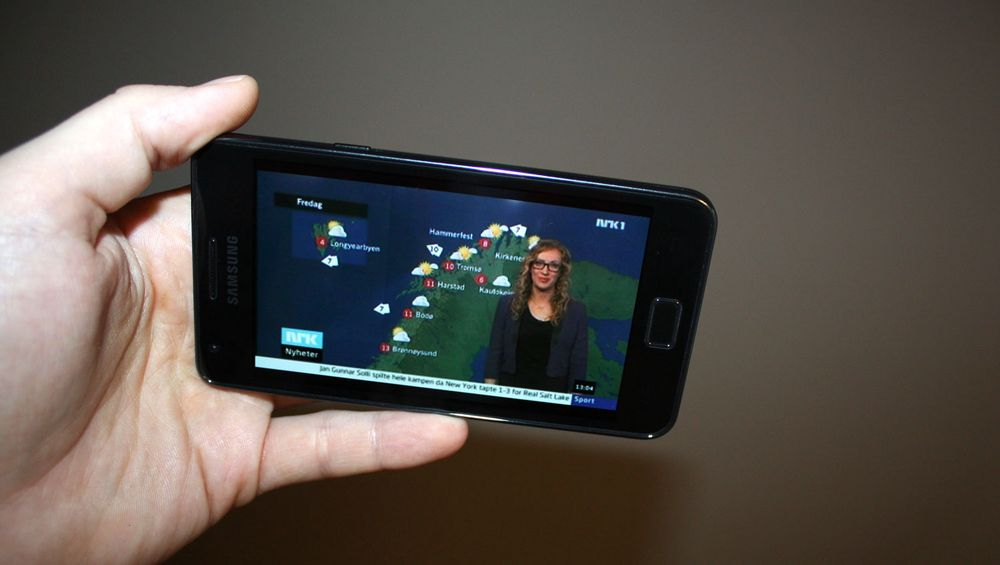 Se NRK på mobilen