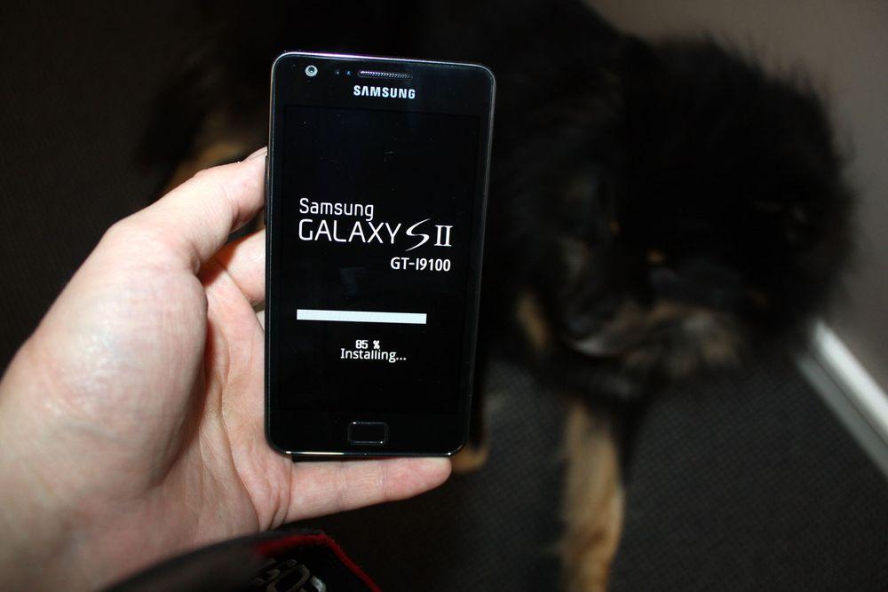Nå blir Galaxy S II oppdatert