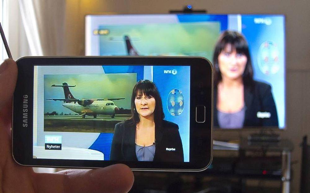 Vi fulgte Marit Bjørgen live på TV