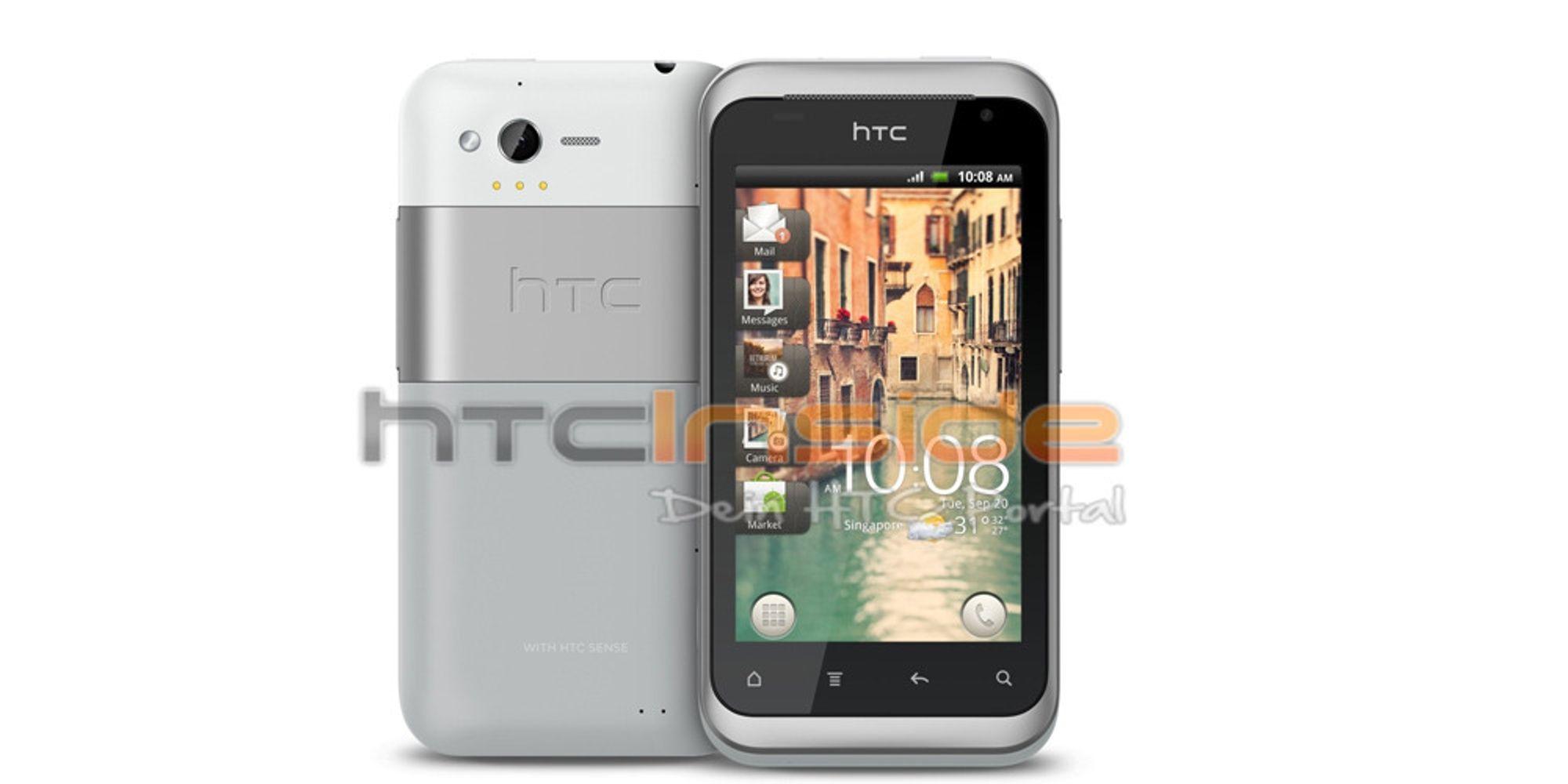 PR-bilder av HTC Bliss lekket