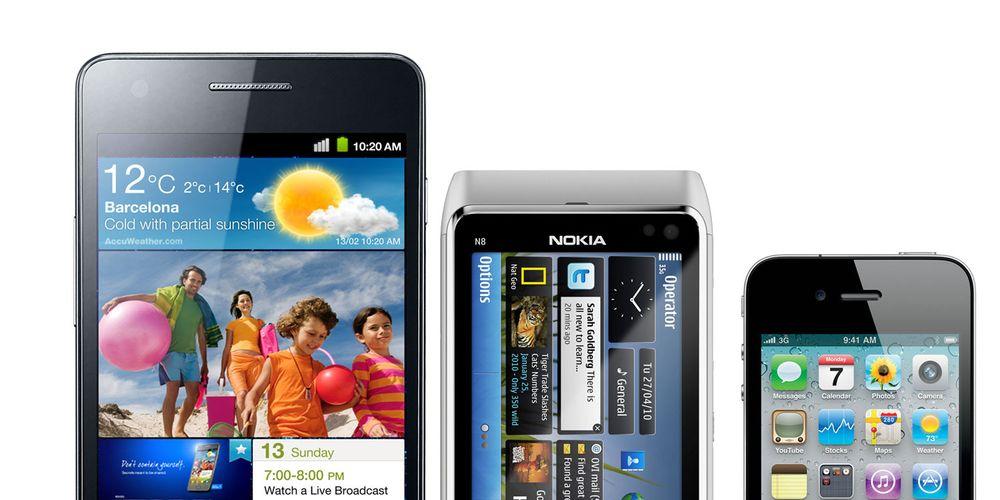 Samsung størst på smarttelefoner