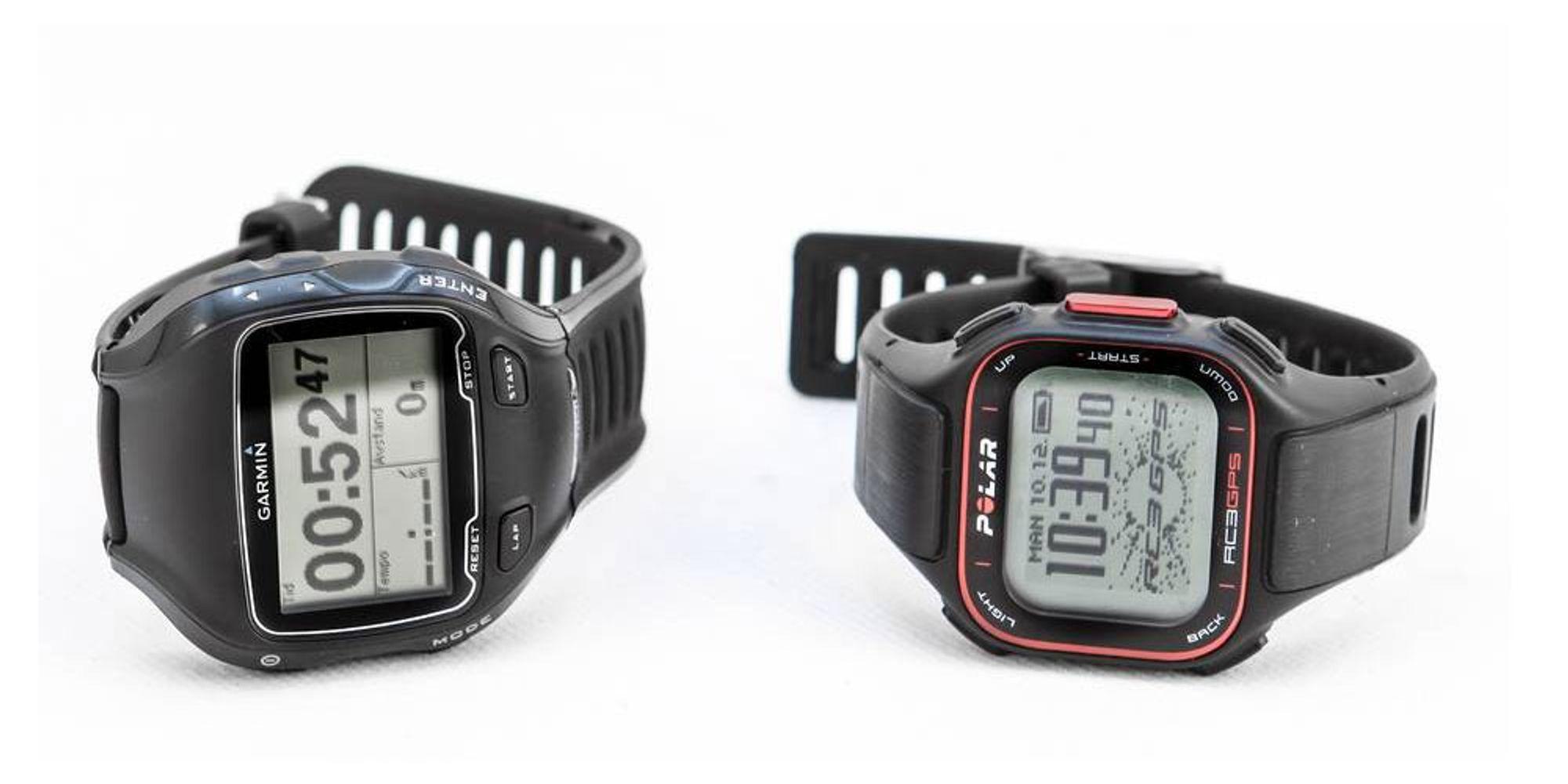 TEST: Pulsklokker med innebygget GPS