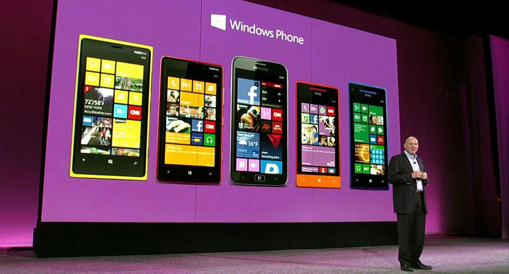 App-eksplosjon for Windows Phone