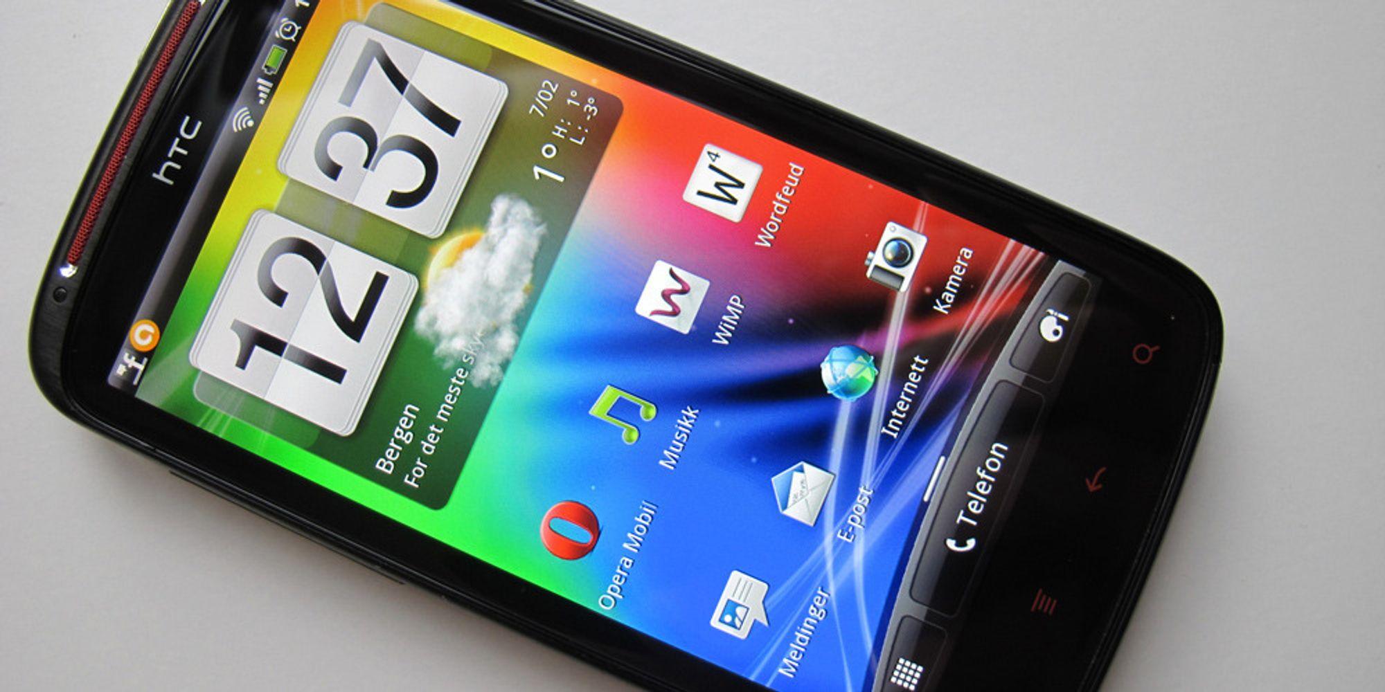 """HTC dropper """"nye"""" flaggskip"""