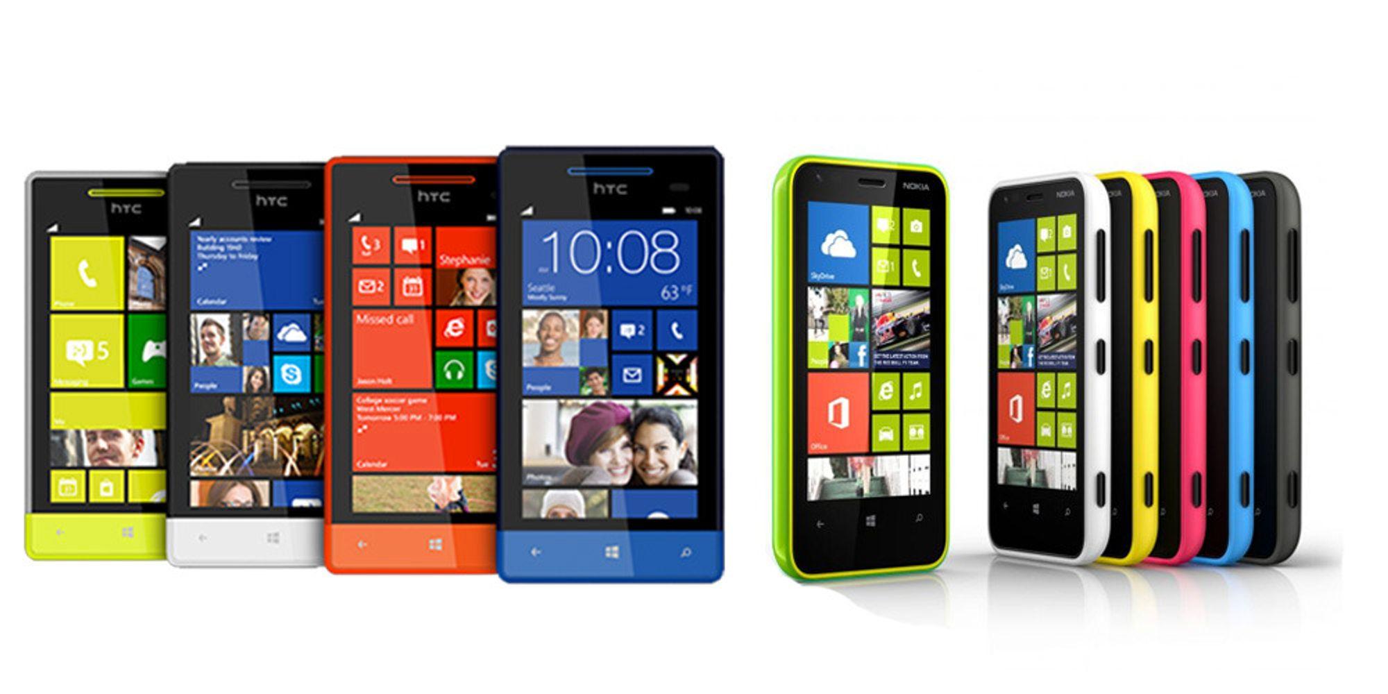 Duell: Nokia Lumia 620 VS HTC 8S