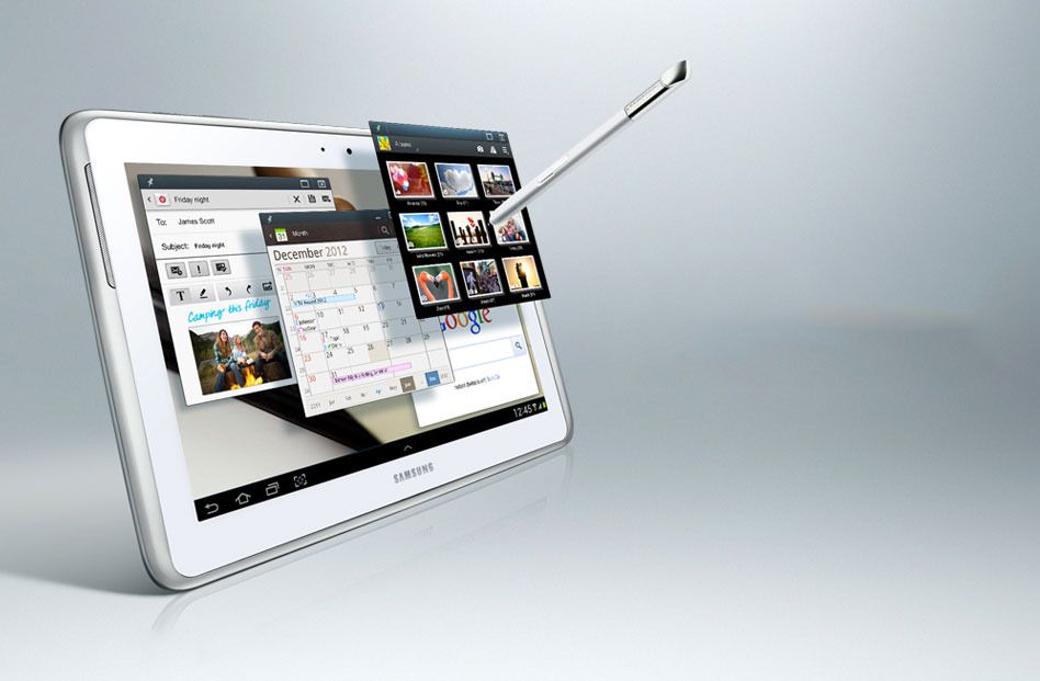 Galaxy Note 10.1 får Android 4.1