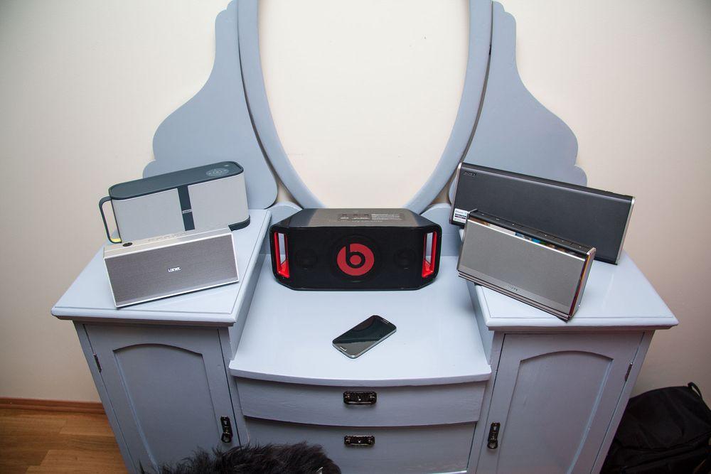 TEST: Fem store Bluetooth-høyttalere