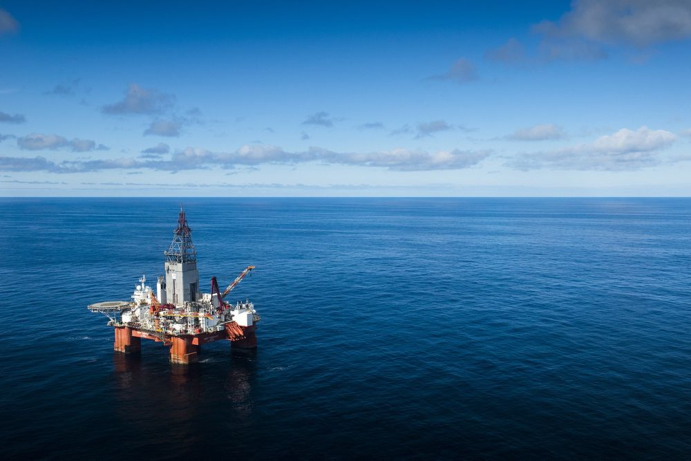 West Hercules drilling well number 100 at the Nunatak prospect in the Barents Sea.