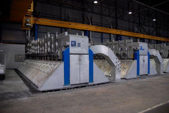Ny aluminiumsovn Årdal