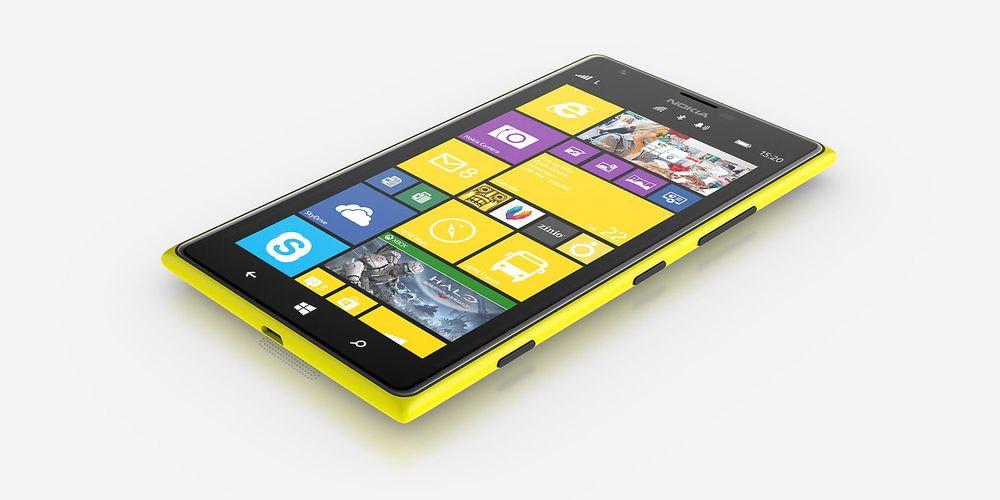 Det er lett å se at Nokia Lumia 1520 er en Nokia.