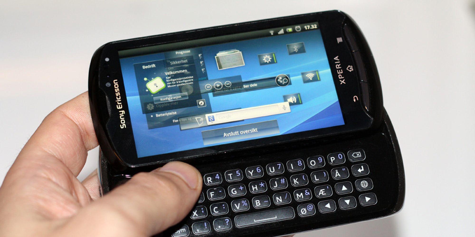 Android 4.0-bølge fra Sony