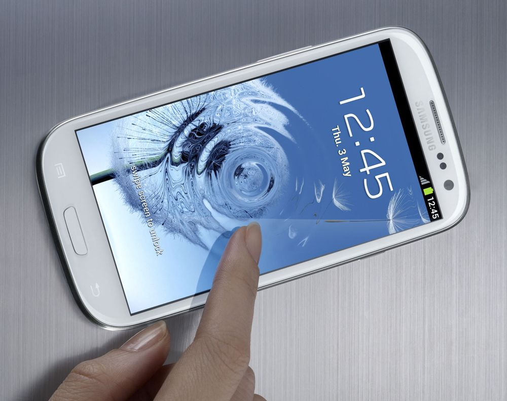 Her er spesifikasjonene til Samsung Galaxy S III
