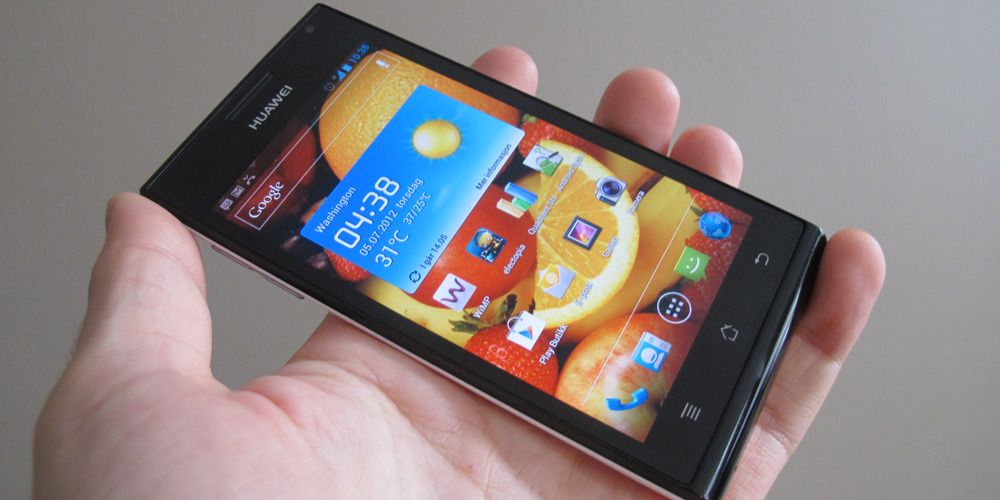 TEST: Test: Huawei Ascend P1