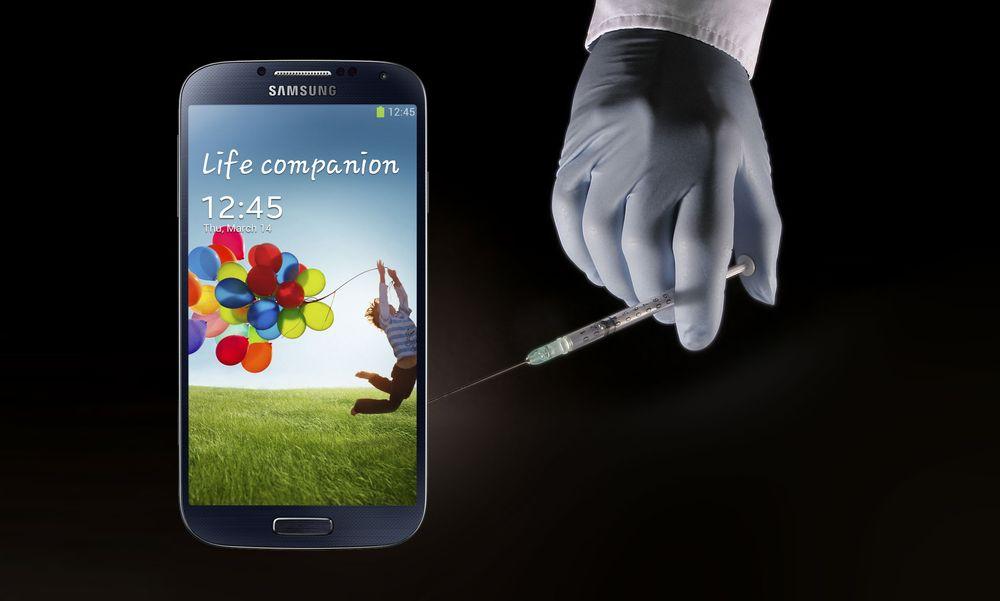 Samsung tatt for «doping» av Galaxy S4