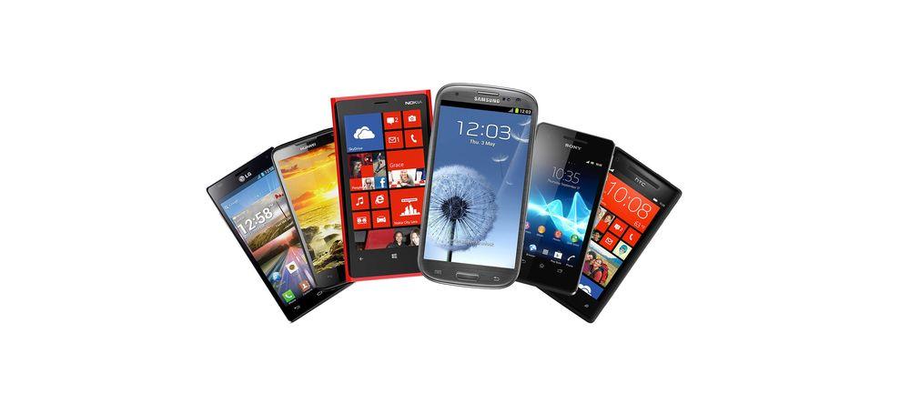 Seks supre telefoner til super pris