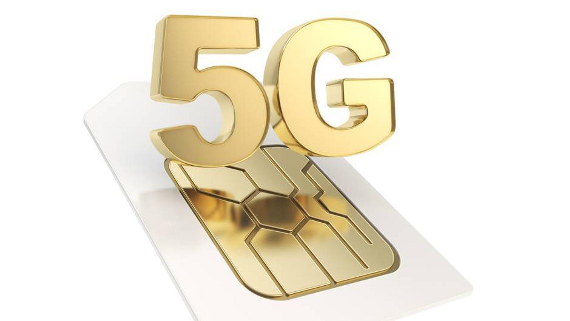 5G skal bli flere hundre ganger raskere enn 4G