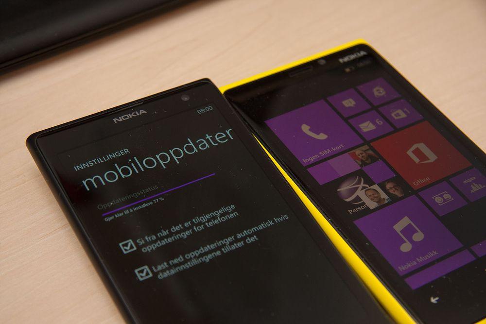Stor Nokia Lumia-oppdatering ute