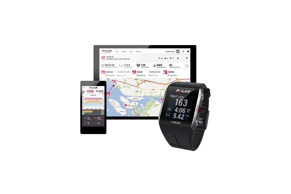 Polars nye pulsklokke snakker med mobilen