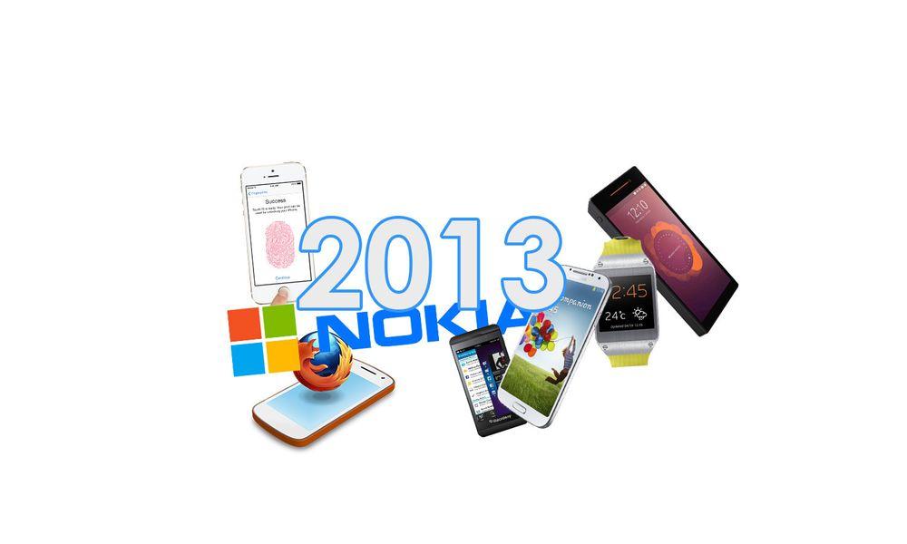 TEST: Slik var mobilåret 2013