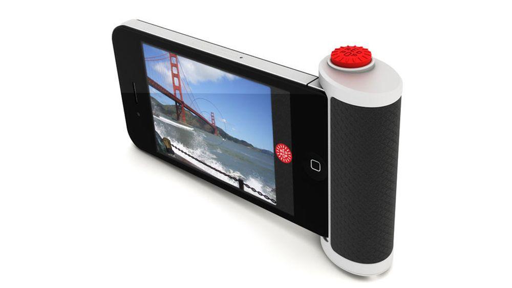 En kameratast til iPhone