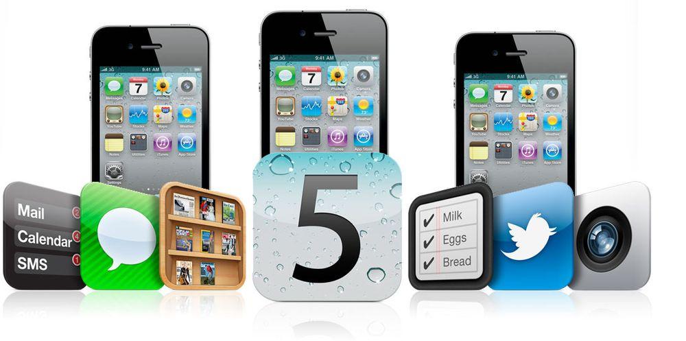 Dette er nytt i iOS 5