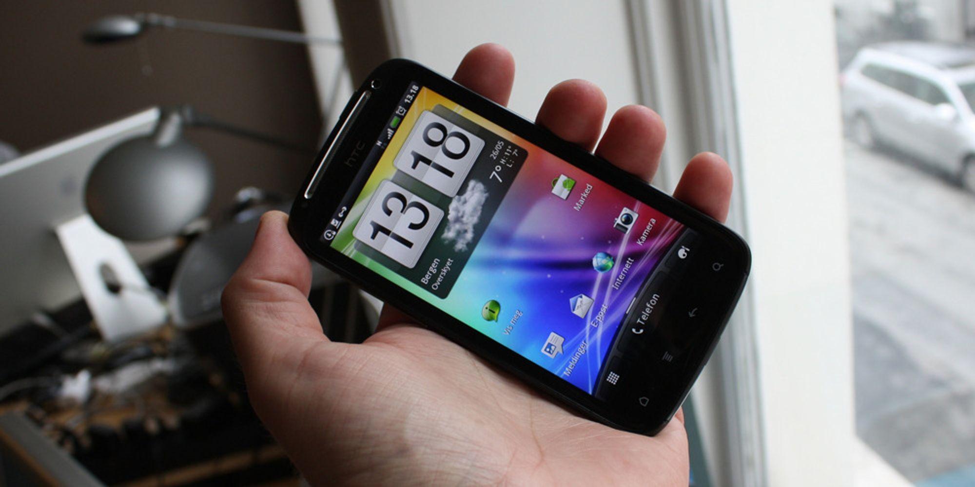 Førsteinntrykk: HTC Sensation