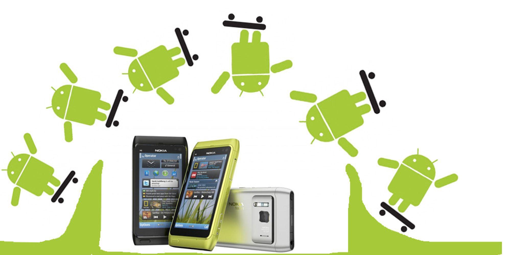 Så store er mobilprodusentene