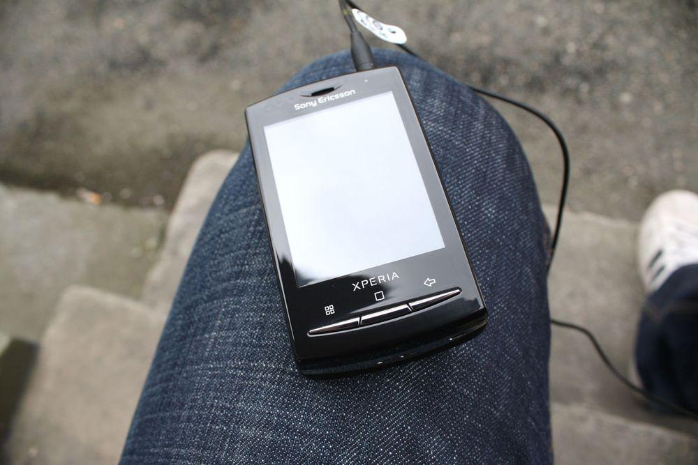 TEST: Sony Ericsson Xperia X10 Mini Tu.no