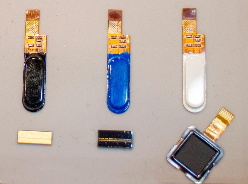 Klar for markedet: Idex er ferdig med flatesensoren og flere såkalte swypesensorer for fingeravtrykkavlesning.
