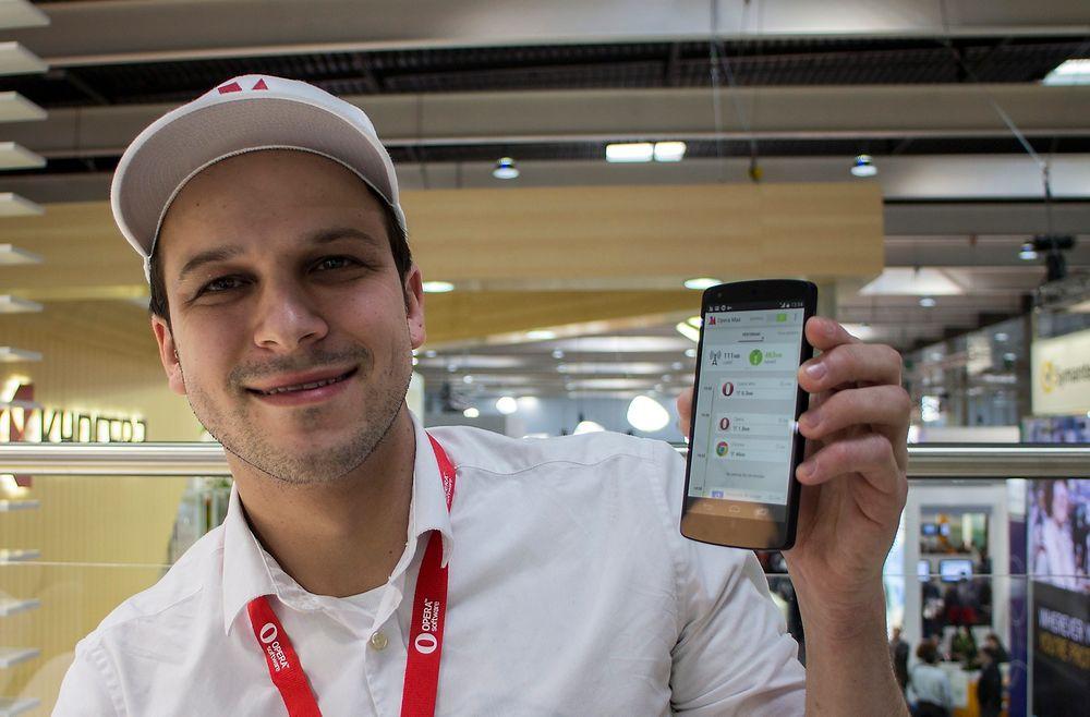 Kompressor: Sergey Lossev har ledet utviklingen av Opera Max, som komprimerer brukerdata til Androidmobiler. Selv er han glad i musikkvideoer, så han oppnår 80 prosent kompresjon.