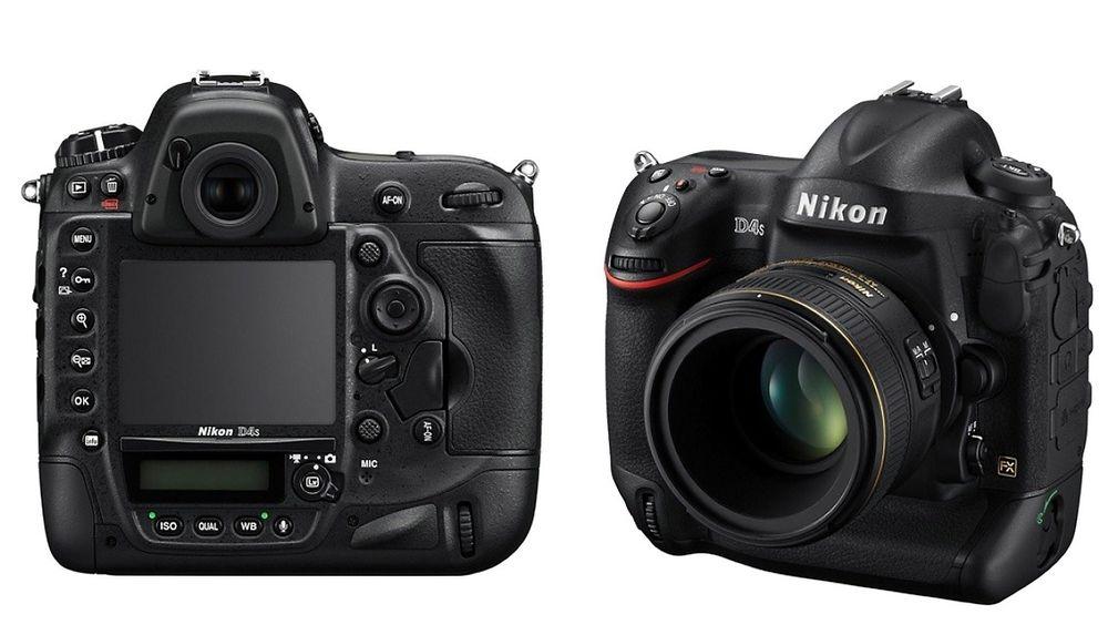 Toppmodell: Nikon D4s er ventet til Norge i mars.