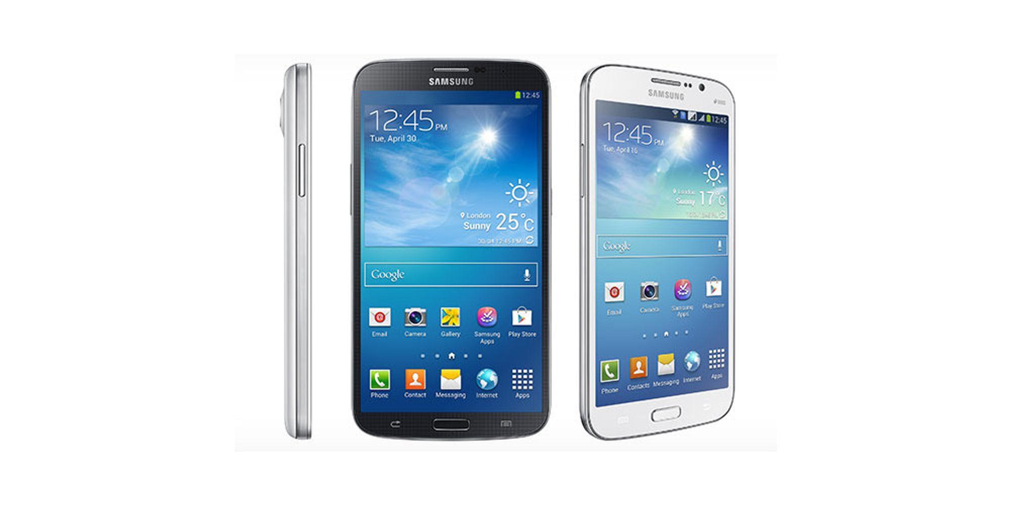 Nye kjemper fra Samsung