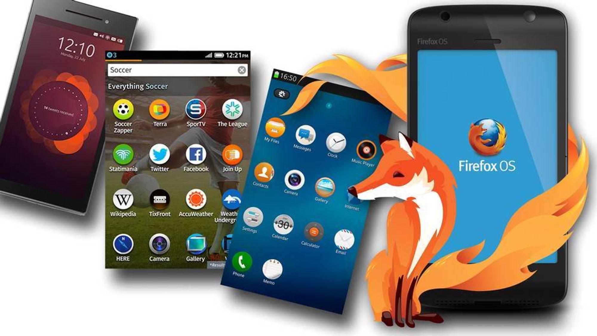 Her er operativsystemene som skal utfordre Android