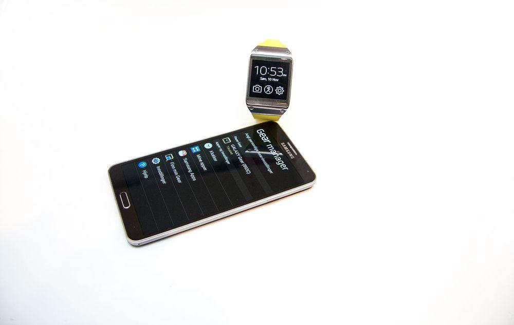 Slik er Samsung Galaxy Gear - Tu no