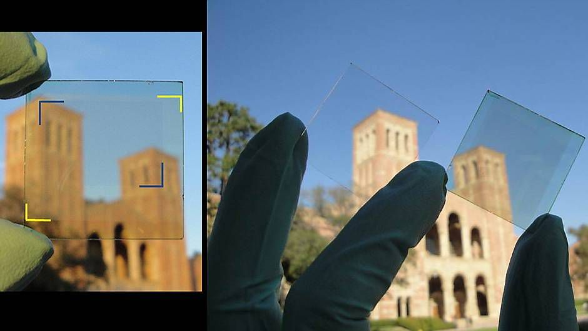 Dette glasset produserer strøm