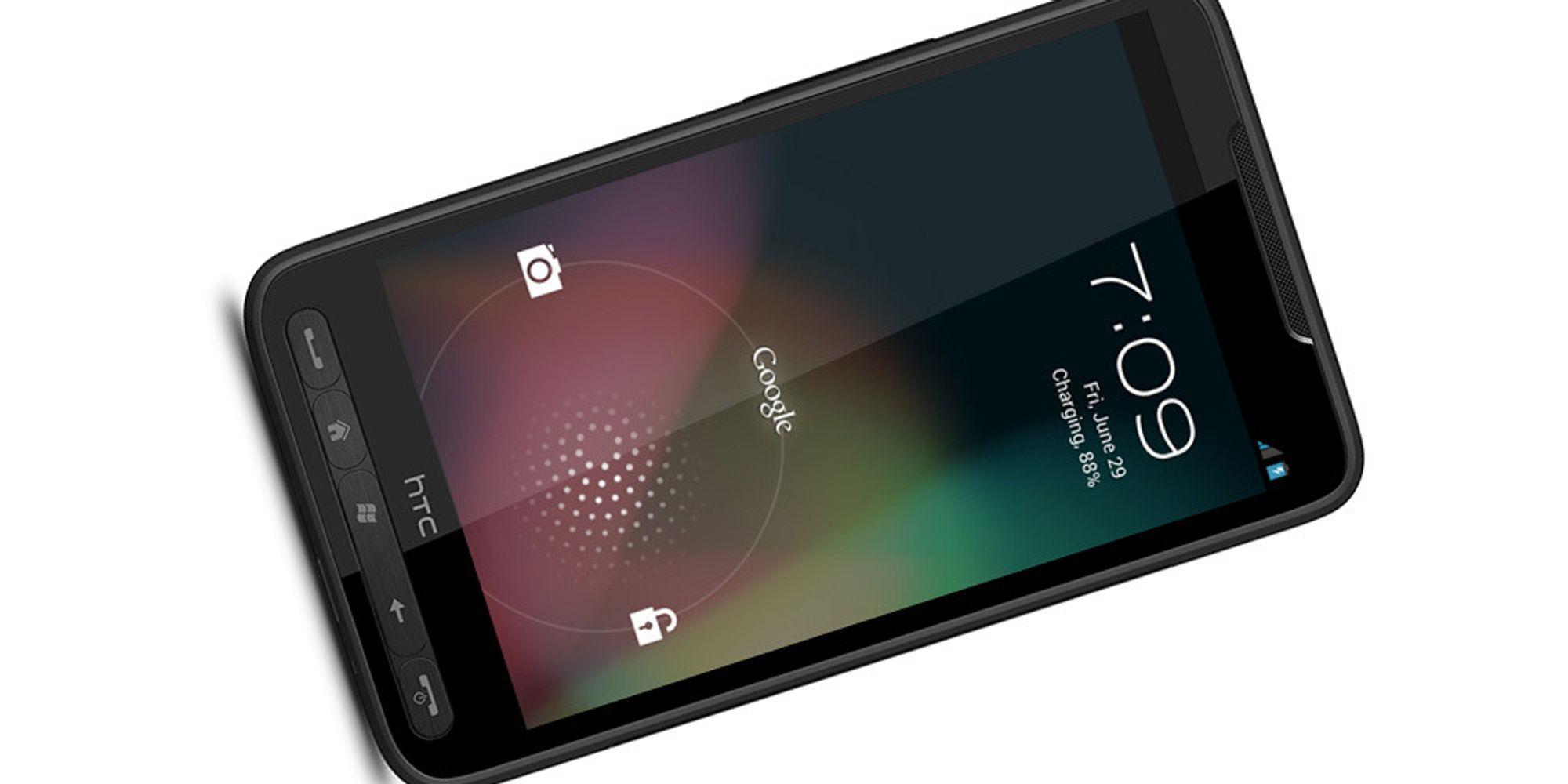 JellyBean er portert til HTC HD2