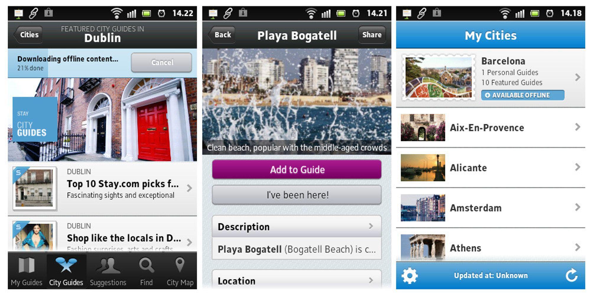 Få din egen reiseguide på mobilen