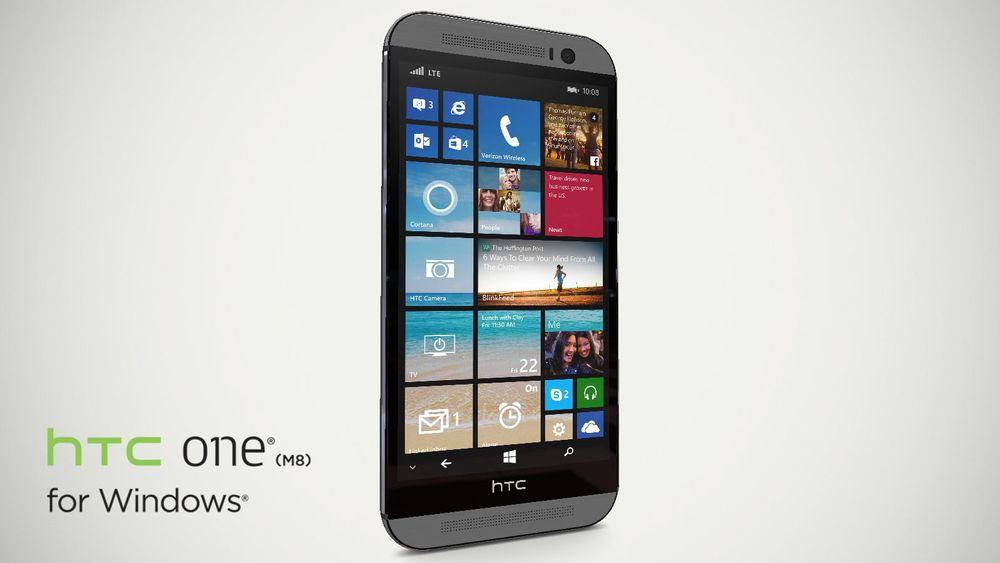 HTCs toppmodell er lansert i Windows-utgave. Den kom i salg i går, men kun hos den amerikanske operatøren Verizon.