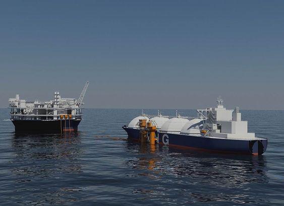 Slik ser Sevan Marine for seg en flytende, rund LNG-fabrikk.