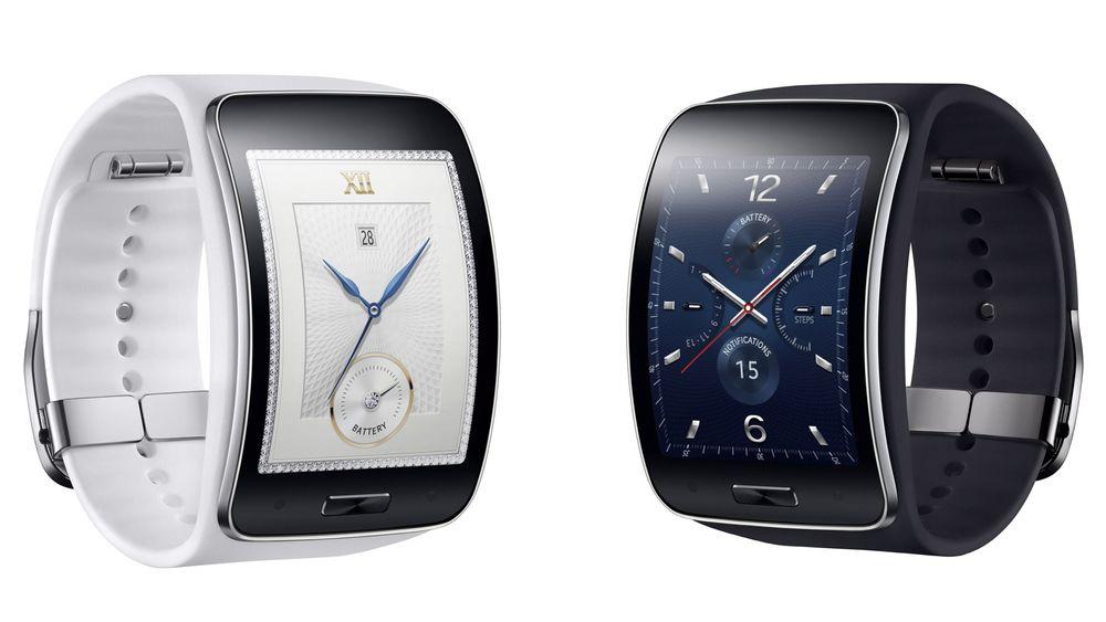 Samsung Gear S er en smarttelefon som sitter på håndleddet.