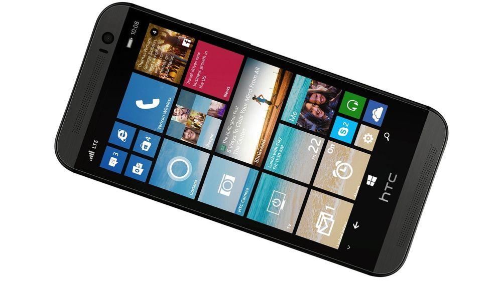 Det ser ut til at HTC har en Windows-utgave av toppmodellen One (M8) på trappene.
